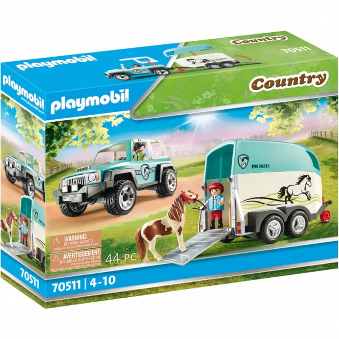 Playmobil® 70511 - PKW mit Ponyanhänger - Playmobil® Country