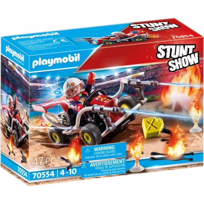 Playmobil® 70554 - Stuntshow Feuerwehrkart - Playmobil® Stunt Show