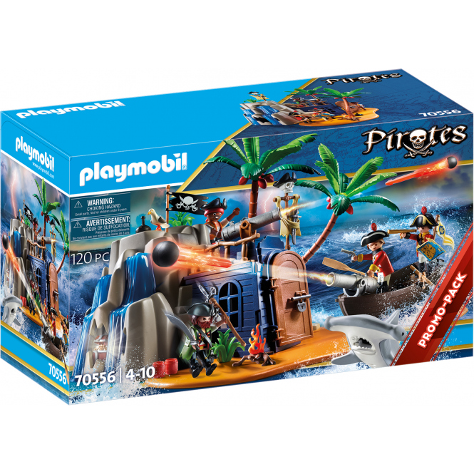 Playmobil® 70556 - Pirateninsel mit Schatzversteck - Playmobil® Pirates