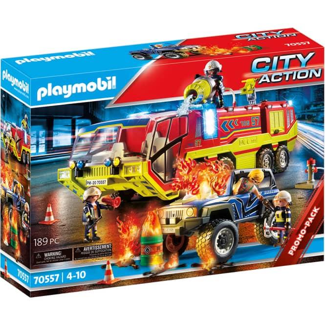 Playmobil® 70557 - Feuerwehreinsatz mit Löschfahrzeug - Playmobil® City Action