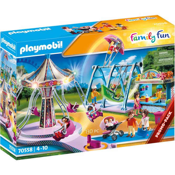 Playmobil® 70558 - Großer Vergnügungspark - Playmobil® Family Fun