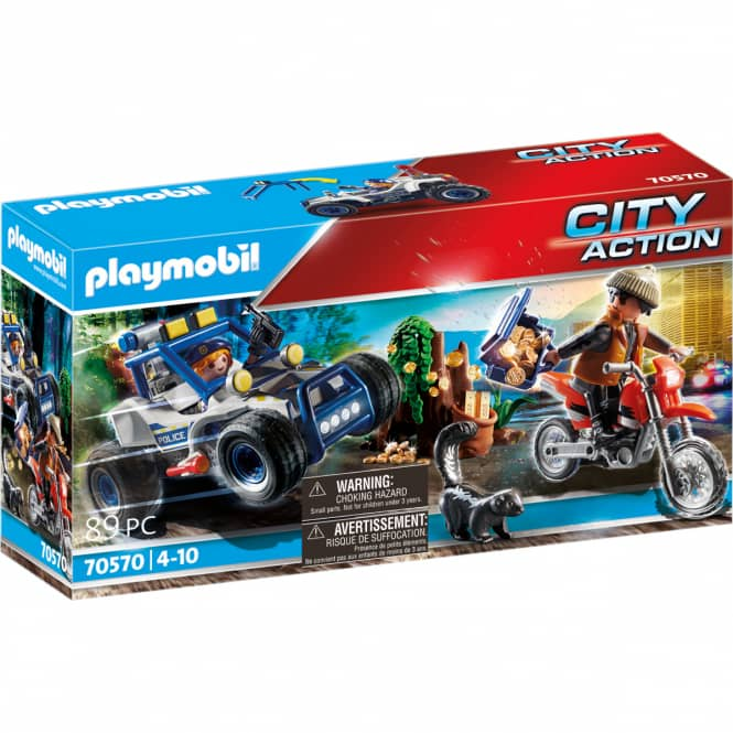 Playmobil® 70570 - Polizei-Geländewagen: Verfolgung des Schatzräubers - Playmobil® City Action