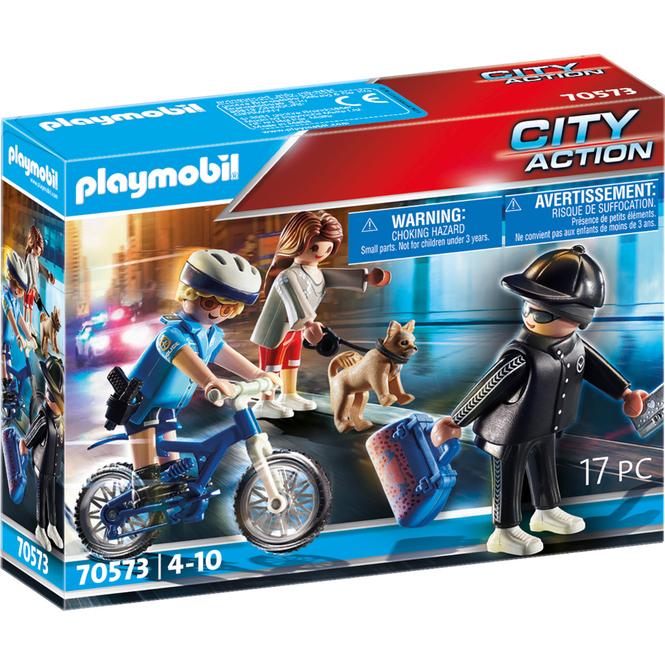 Playmobil® 70573 - Polizei-Fahrrad: Verfolgung des Taschendiebs - Playmobil® City Action