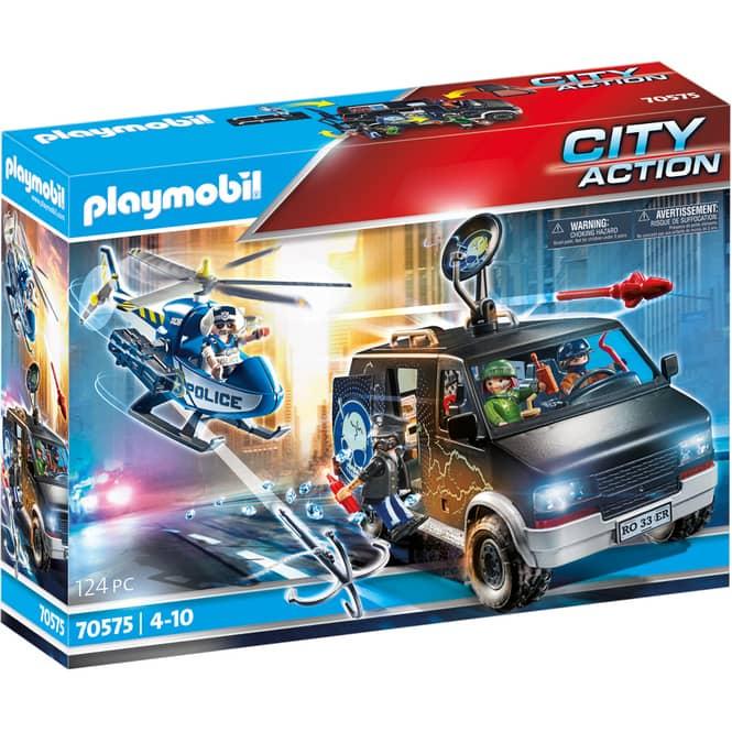 Playmobil® 70575 - Polizei-Helikopter: Verfolgung des Fluchtfahrzeugs - Playmobil® City Action