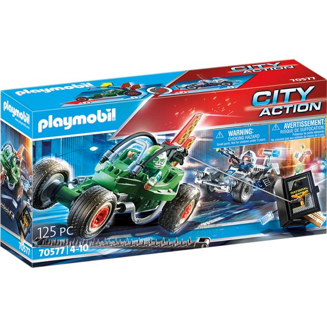 Playmobil® 70577 - Polizei-Kart: Verfolgung des Tresorräubers - Playmobil® City Action