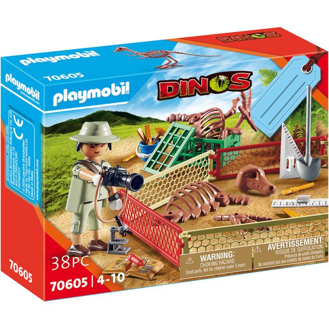Playmobil® 70605 - Geschenkset Paläontologe - Playmobil® Dinos