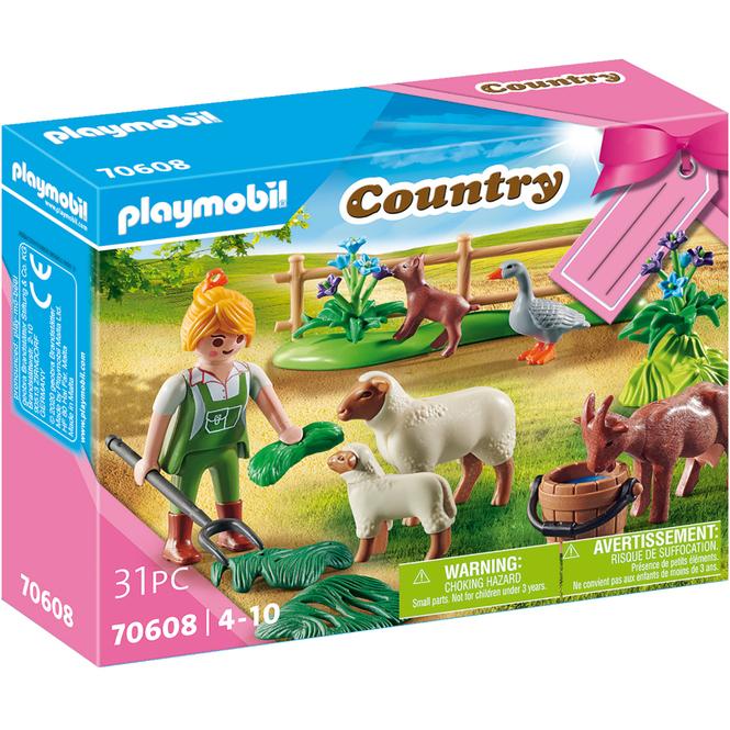 Playmobil® 70608 - Geschenkset Bäuerin mit Weidetieren - Playmobil® Country