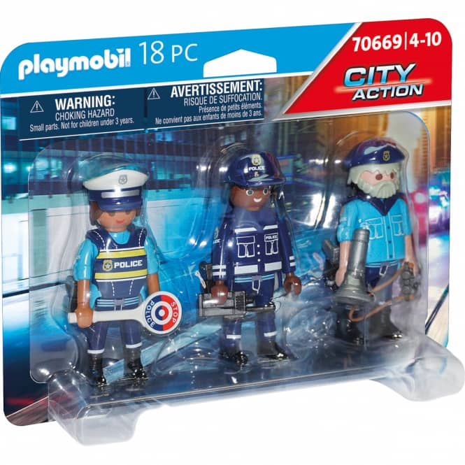 Playmobil® 70669 - Figurenset Polizei - Playmobil® City Action