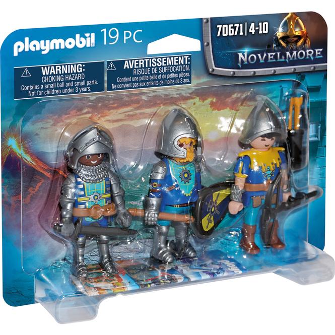 Playmobil® 70671 - 3er Set Novelmore Ritter - Playmobil® Novelmore