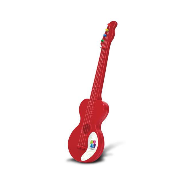 Kinder-Gitarre rot