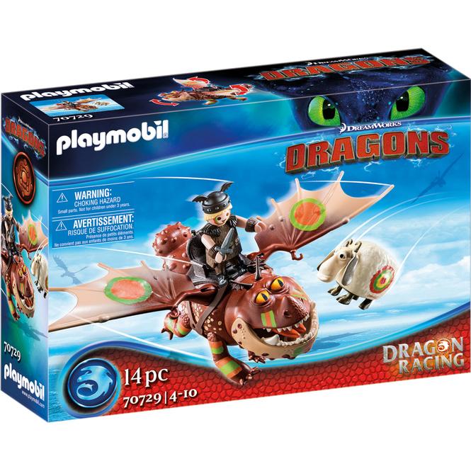 Playmobil® 70729 - Dragon Racing: Fischbein und Fleischklops - Playmobil® Dragons