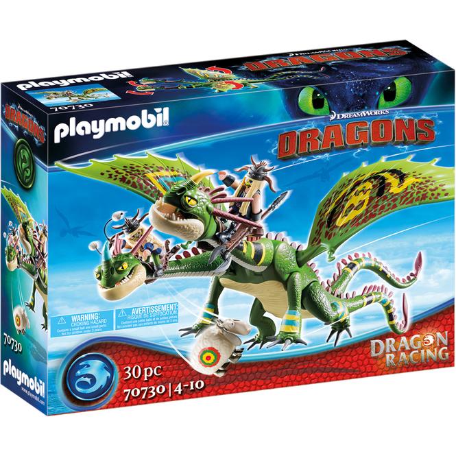 Playmobil® 70730 - Dragon Racing: Raffnuss und Taffnuss mit Kotz und Würg - Playmobil® Dragons