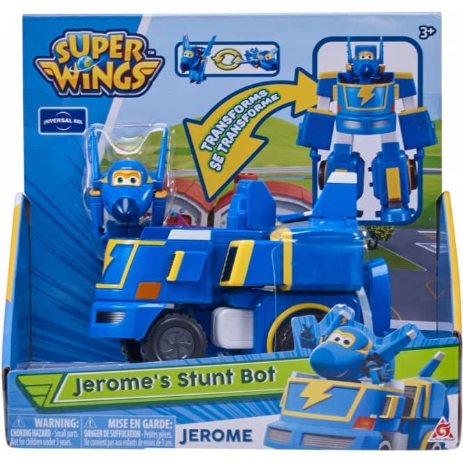 Super Wings - Transforming Jerome - ca. 12 cm