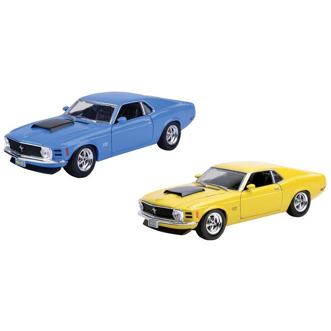 Motormax - Ford Mustang Boss 429 - 1:24 - verschiedene Modelle