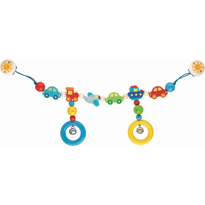Kinderwagenkette Fahrzeuge - ca. 40 cm - Heimess