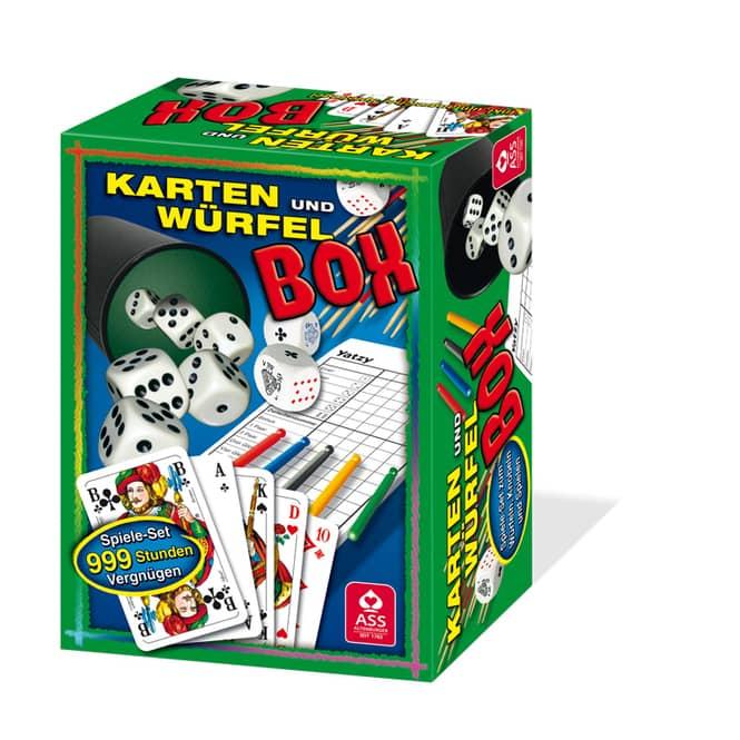 Karten- und Würfelbox
