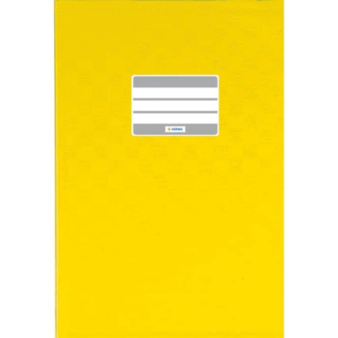Heftumschlag A5 gelb