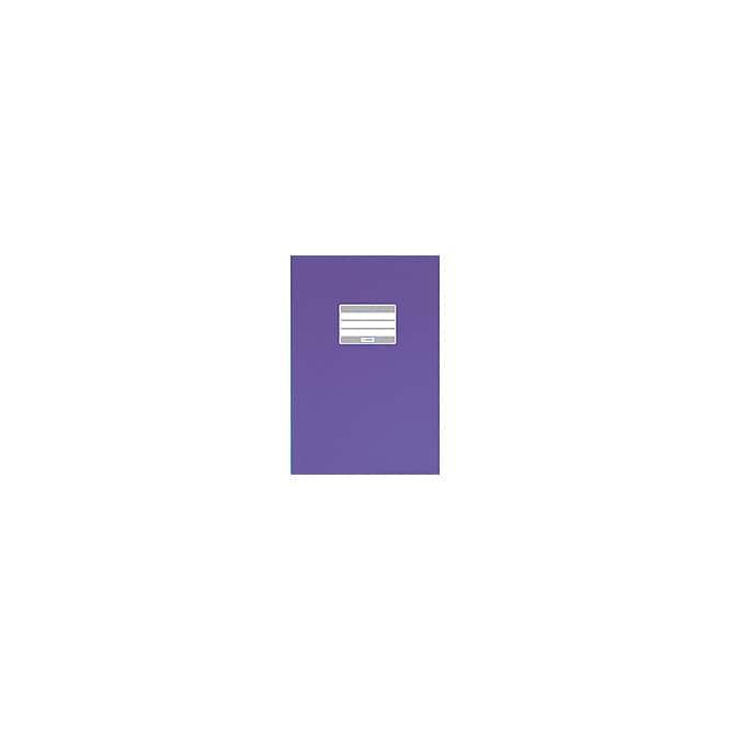 Heftumschlag A5 violett