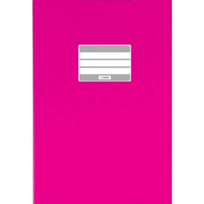 Heftumschlag A5 pink