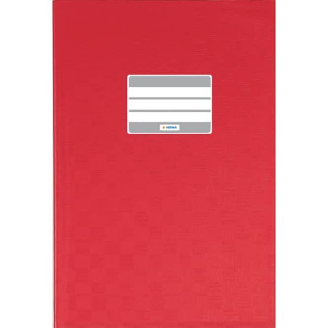Heftumschlag A4 rot
