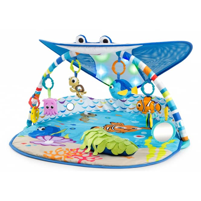 Bright Starts - Spielbogen - Findet Nemo - Mr. Ray Ocean Lights & Music Gym™
