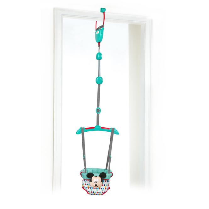 Bright Starts - Türhopser Mickey Maus - Happy Triangles Door Jumper™