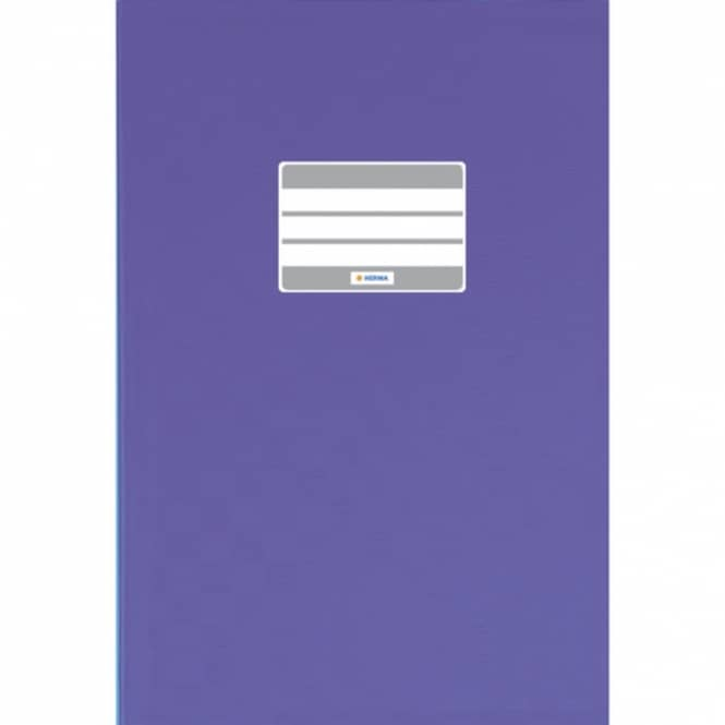 Heftumschlag A4 violett