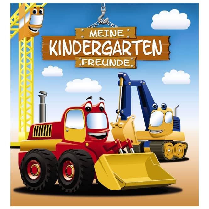 Meine Kindergarten-Freunde Bagger