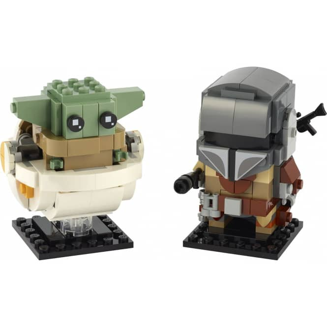 LEGO® BrickHeadz™ Star Wars™ 75317 - Der Mandalorianer™ und das Kind