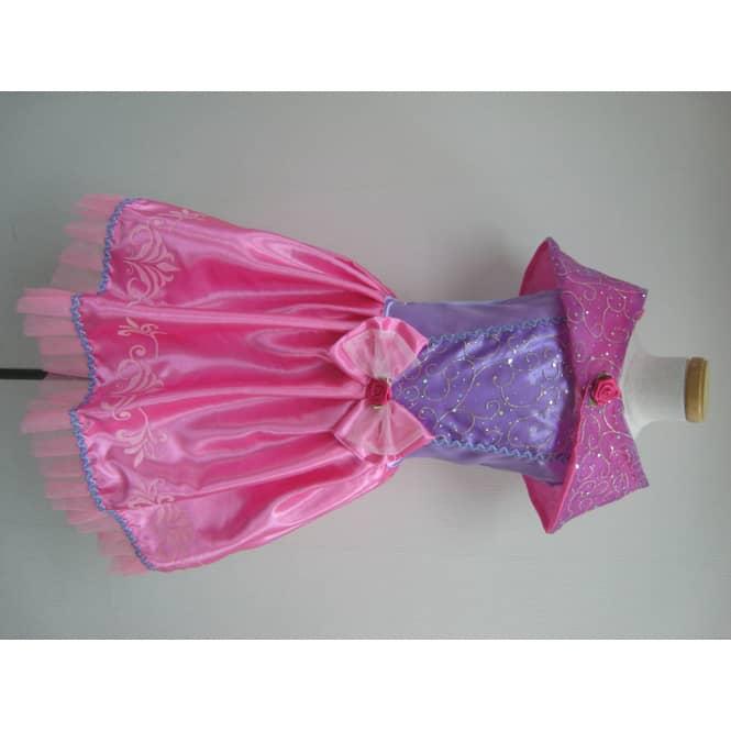 Besttoy Kinder Kostüm Prinzessin rosa-lila-pink