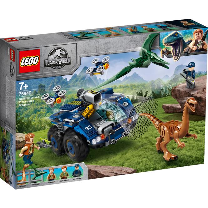 LEGO® Jurassic World™ 75940 - Ausbruch von Gallimimus und Pteranodon