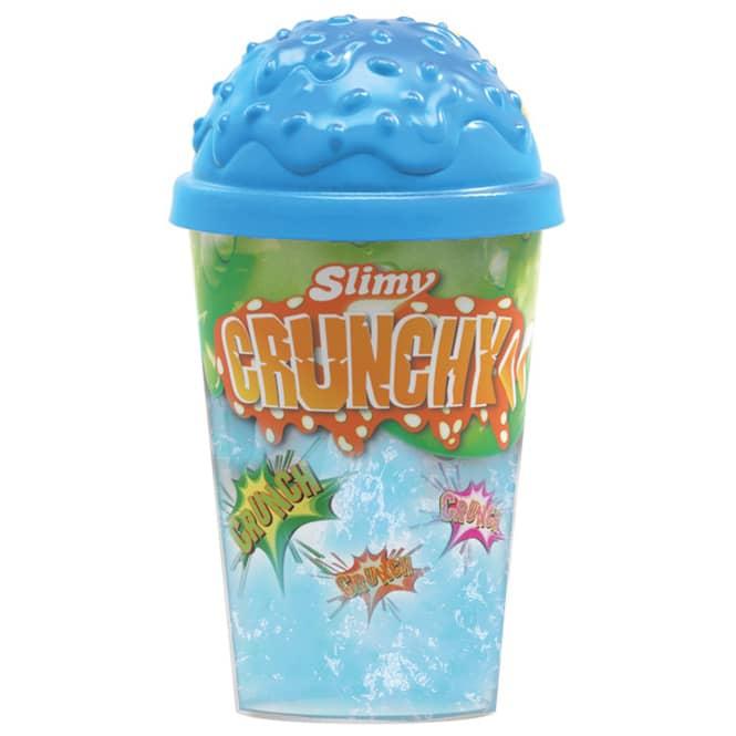 Slimy - Crunchy - Knisterschleim im Becher - verschiedene Farben - 1 Stück