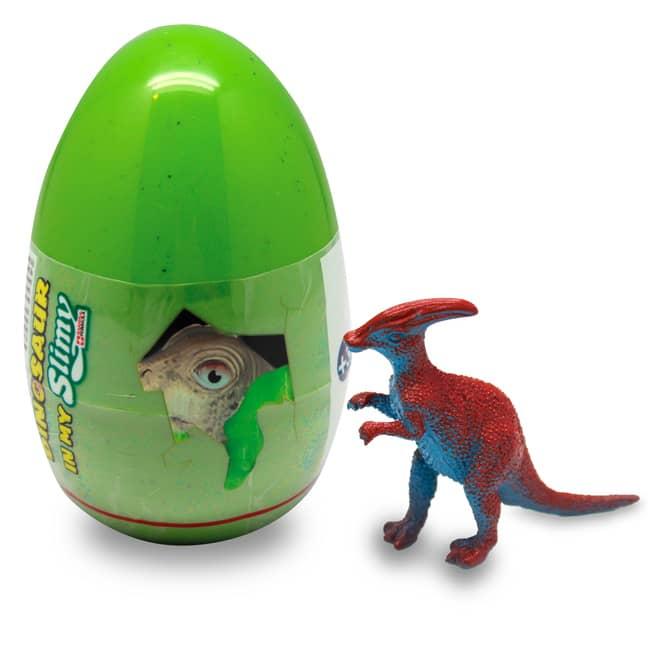 Slimy - Ei mit Dinosaurier Spielfigur und Schleim - Blindpack - verschiedene Varianten - 1 Stück