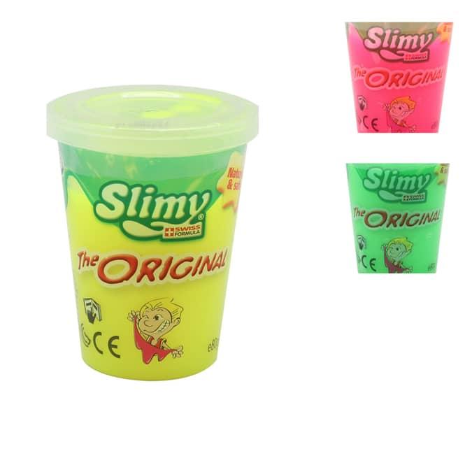 Slimy - Schleim im Becher - verschiedene Farben - 1 Stück