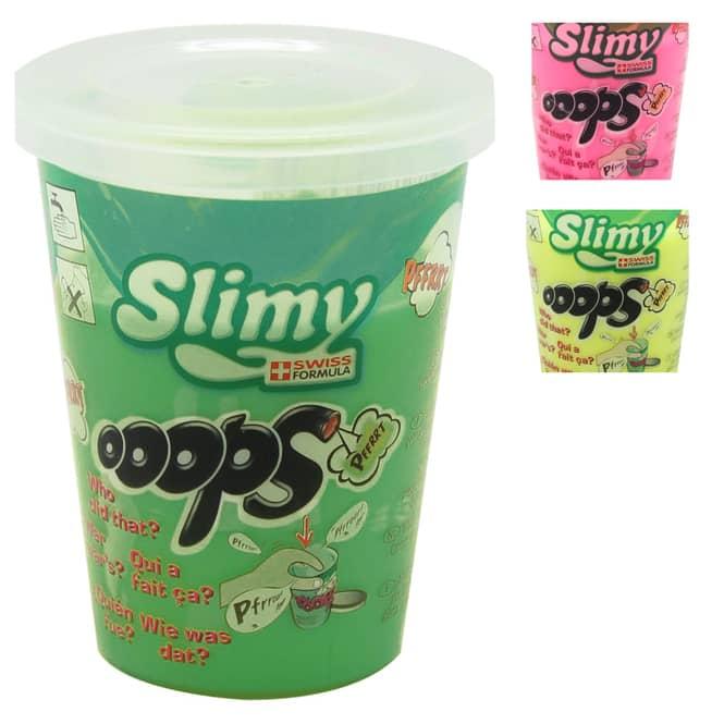 Slimy - Ooops - Pupsschleim im Becher - verschiedene Farben - 1 Stück