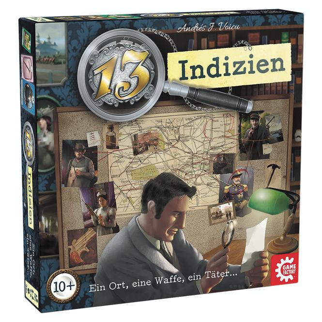 13 Indizien - Ein Ort, eine Waffe, ein Täter...