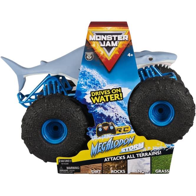 RC Monster Jam Truck Megalodon - Spin Master