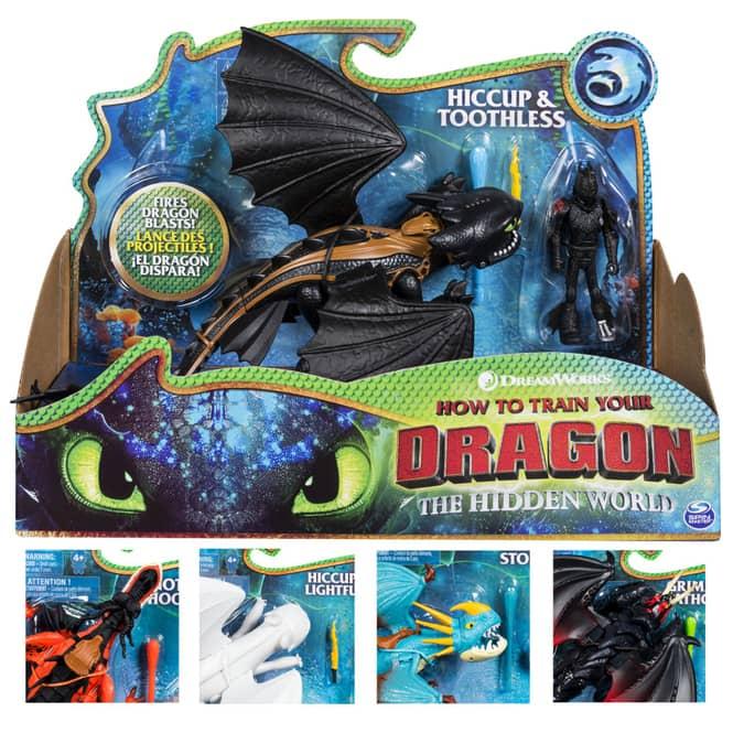 Dragons - Drachenreiter Set - verschiedene Ausführungen