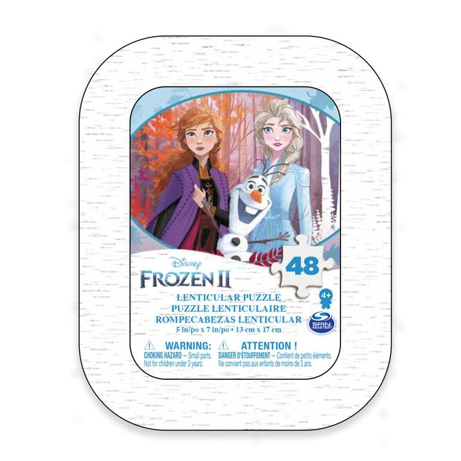 Die Eiskönigin 2 - Lenticular Puzzle in Mini Tin Box - 48 Teile