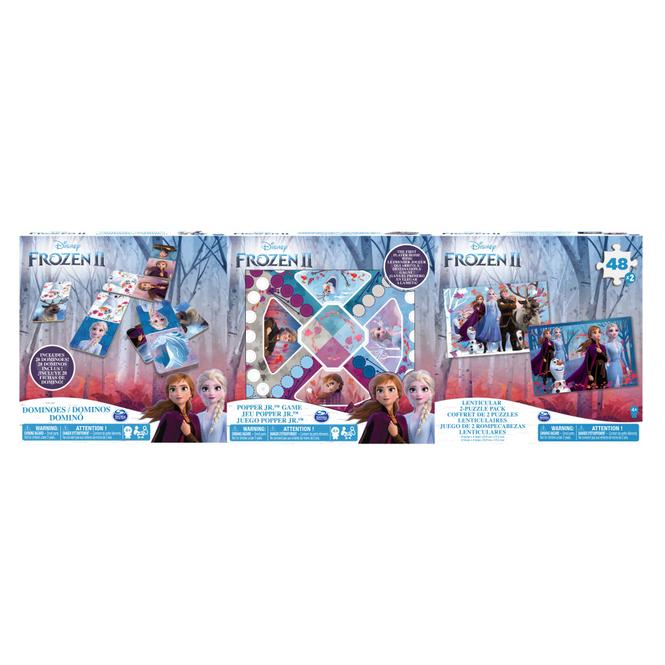 Die Eiskönigin 2 -  3er-Spielesammlung mit Spieleklassikern