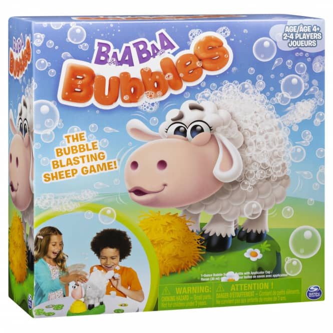 Baa Baa Bubbles - Kinderspiel