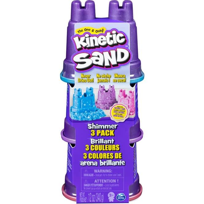 Kinetic Sand - Schimmer - 3er Pack