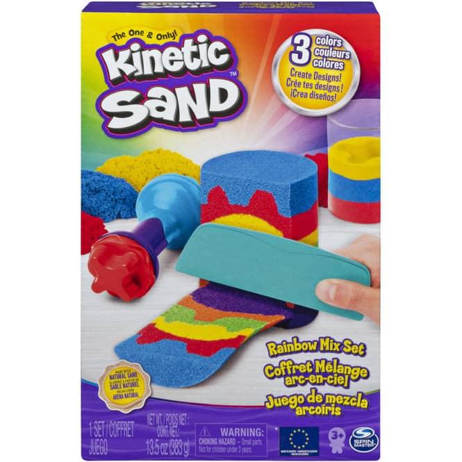 Kinetic Sand - Regenbogen Mix Set