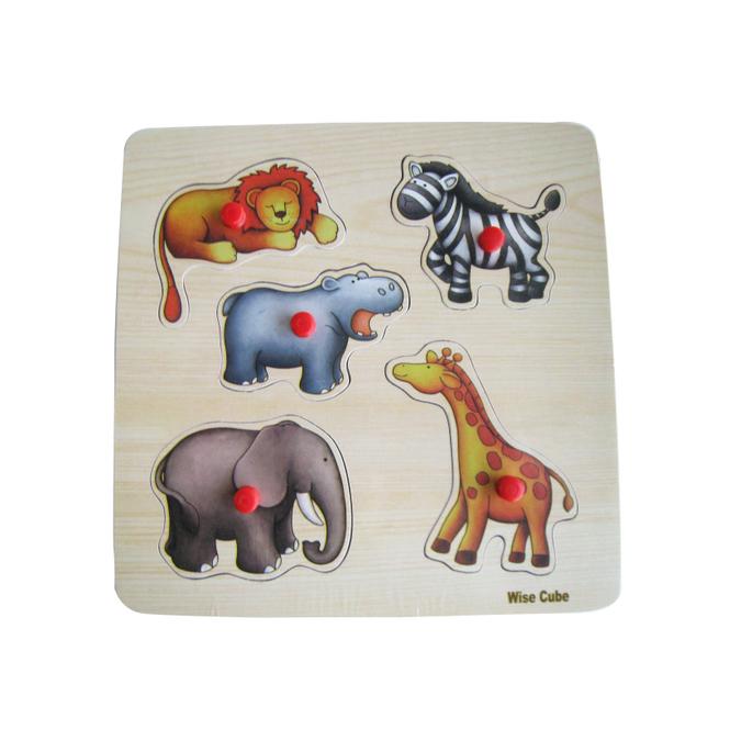 Besttoy - Holz-Puzzle - Afrika - 5 Teile