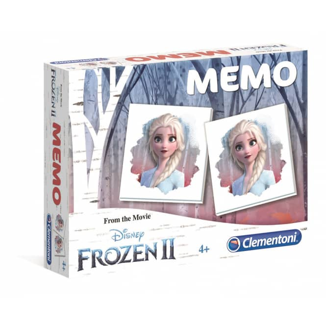Memo Kompakt - Die Eiskönigin 2 - Clementoni
