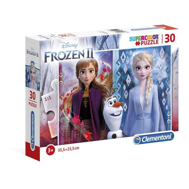 Die Eiskönigin 2 - Kinderpuzzle - 30 Teile - Supercolor