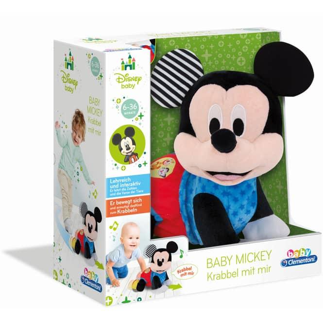 Baby Mickey - Krabbel mit mir - baby Clementoni
