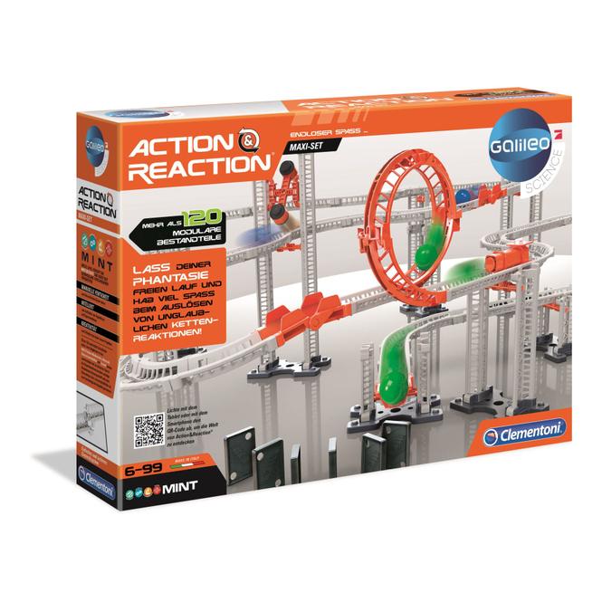Galileo - Action & Reaction - Maxi Set - Clementoni