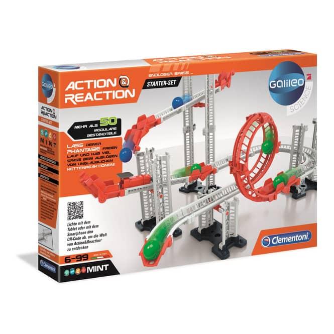 Galileo - Action & Reaction - Starter Set - Clementoni