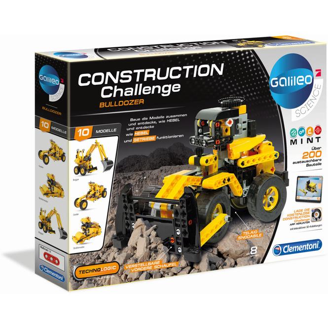 Galileo - Construction Challenge - Bulldozer - Clementoni